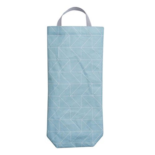 YJYDADA Hanging Kitchen Garbage Bag Storage Packing Organiser Organizer Storage Bag (B)