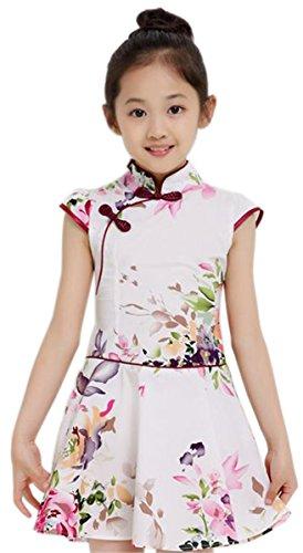 Suimiki Girls Kids China Style Chinese Qipao Cheongsam Dress Costume Top F150 -
