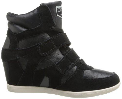 Baskets Femme Noir Mode Skechers Pour RUCwqXBX