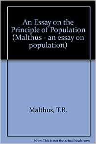 essay on malthus