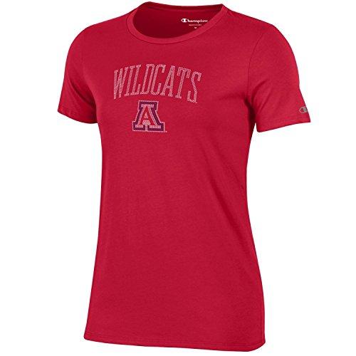 Ncaa Arizona Wildcats Womens Champion University Short Sleeve T Shirt  X Large  Scarlet