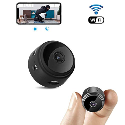 Spy Camera,PELDA WiFi Hidden Camera 1080P HD Home Security Cameras Wireless Nanny Cam Indoor Video Recorder Super Mini Camera with Motion Activated Night Vision