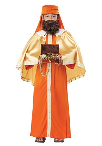 (Gaspar, Wise Man (Three Kings) - Child Costume)