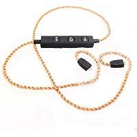Sqrmekoko Wireless Upgrade Cable Ultimate UE TF10 SF3 SF5 5EB 5pro TripleFi 15vm headphone Inline Mic Remote Audio Cord