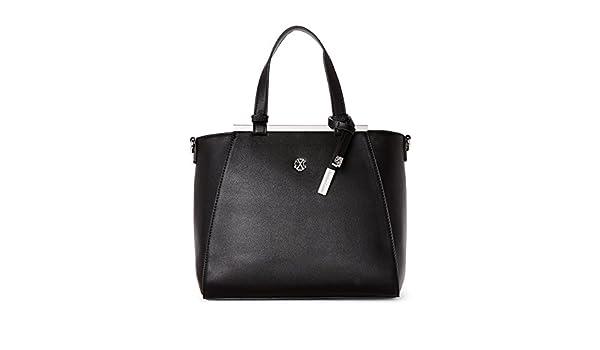 2ee6d121dfad Amazon.com: CXL by Christian Lacroix Giulia Satchel, Black: Clothing