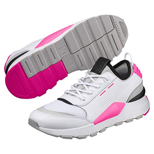 Puma Mixte-erwachsene Rs-0 Chaussure De Son, Blanc-gris-violet Ko Rose
