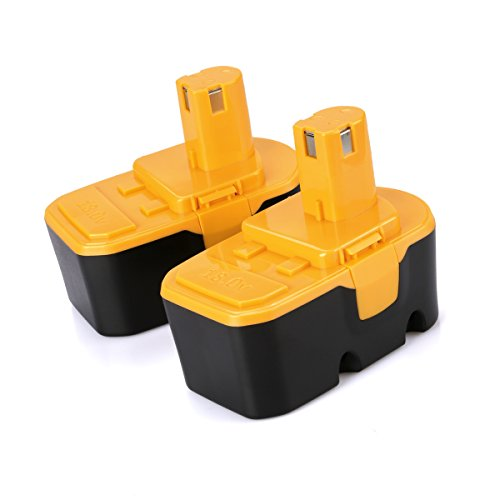 Antrobut 2 Pack 18V 3 0Ah Replacement Battery For Ryobi One Plus P100 P101 130224028 130224007 130255004 Abp1801 Abp1803