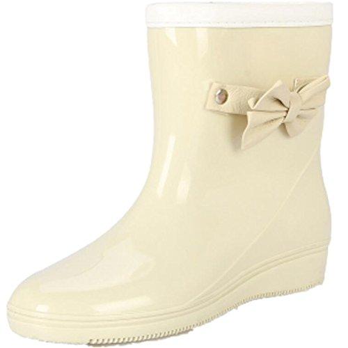 Chaussures Caoutchouc En Haute Femmes Courtes Antidérapantes O8wn0Pk