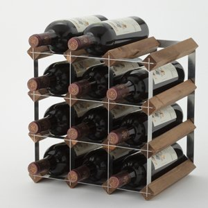Fan Vino [Wine rack] Traditional wine rack for 12 bottles (G08709) by Fan Vino