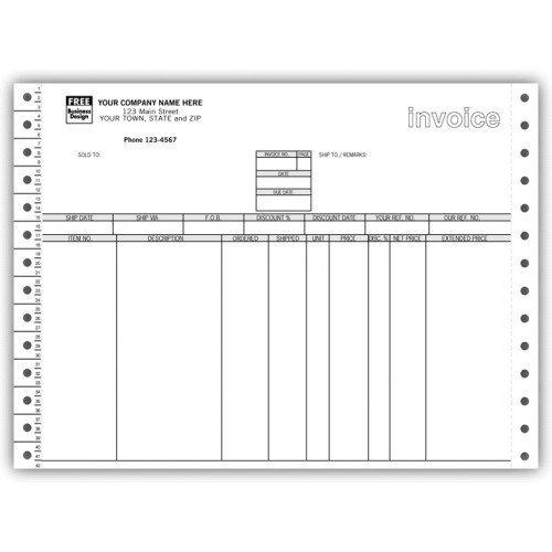Continuous Invoice - 3