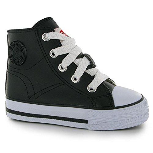 Niños Tops De Zapatillas Para Micro Hi Zapatos Lee Cooper Cordones xCBWroQdeE