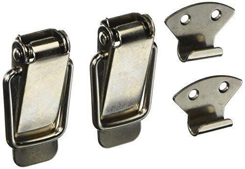 eDealMax Aviation en Acier inoxydable Boîte à outils à Bascule Loquet Gâche, 9cm, 2 pièces by eDealMax