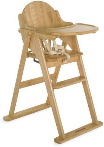 Mothercare Valencia Wooden Highchair (Natural)
