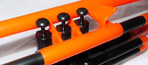 pBone PTRUMPET1O The Plastic Trumpet, Orange by pBone (Image #6)