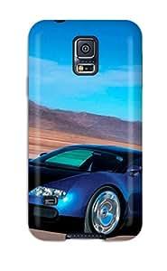 Tpu DanRobertse Shockproof Scratcheproof Bugatti Car Pictures Hard Case Cover For Galaxy S5