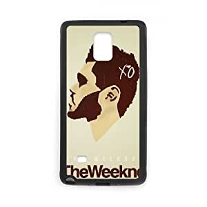 The Weeknd XO Samsung Galaxy Note 4 Cell Phone Case Black BSI_801378
