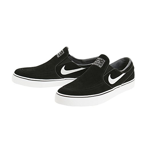 Zoom Skateboard Uomo Nike bianco Janoski Da Stefan Nero Scarpe Slip FwxwqZadY