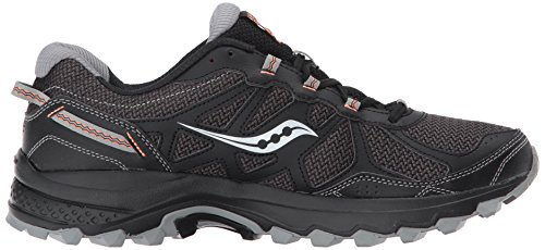 Saucony Mens Excursion TR11 Running Shoe Black Orange