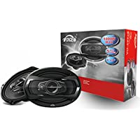 Voice Car Speakers 6x9 Inch (Pair), Coaxial 5 Way, Tweeter 11MM x 2 Dome, 4Ω, Woofer 163MM x 237MM speakers VO-6995B
