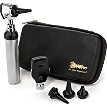 RA Bock 3.2v LED Otoscope/Medical School Kit - Premium Protective Case