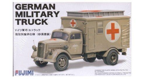 Los mejores precios y los estilos más frescos. 1 72 German Ambulance Truck Truck Truck Desert DAK by Fujimi  Tu satisfacción es nuestro objetivo