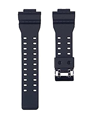 Replacement Watch Band Strap fits Casio G Shock GA100-1A1 GA100-1A2 GA100-1A4 GA120-1 GA110FC-1 GA300-1AD G8900-1 GR8900-1 GR8900A-1 GW8900-1 GW8900A-1 and More from Timewheel