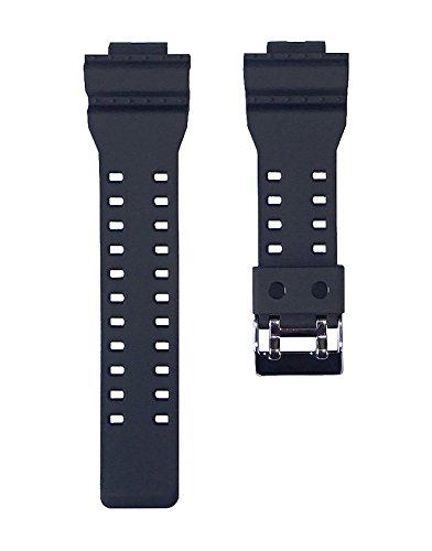 Replacement Watch Band Strap fits Casio G Shock GA100-1A1 GA100-1A2 GA100-1A4 GA120-1 GA110FC-1 GA300-1AD G8900-1 GR8900-1 GR8900A-1 GW8900-1 GW8900A-1 and More