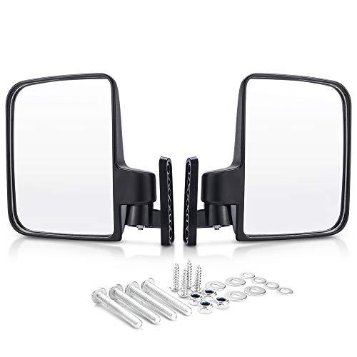 MICTUNING Golf Cart Mirrors