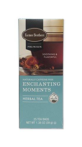 - Farmer Brothers Premium: Enchanting Moments Herbal Tea - 1/25 ct box