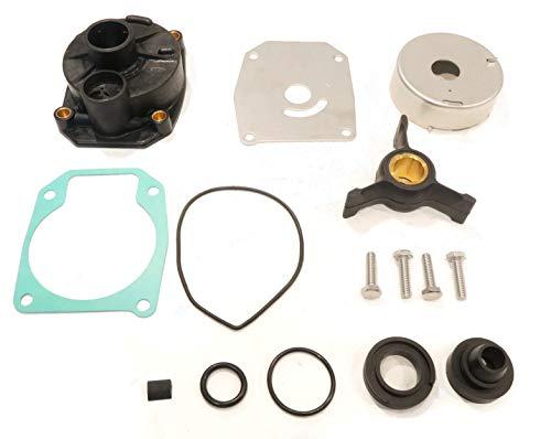 (The ROP Shop | Water Pump Rebuild Kit for 2003-2004 Johnson J50PLSRS, J40RLSTD, 50HP, J50PLSTD)