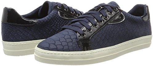 Sneakers 23603 Structure Blue navy top Women's Low Tamaris w5fqIf
