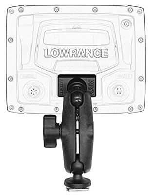 YakAttack Screwball Combo (Lowrance Elite-4 & Mark-4 Fishfinders)