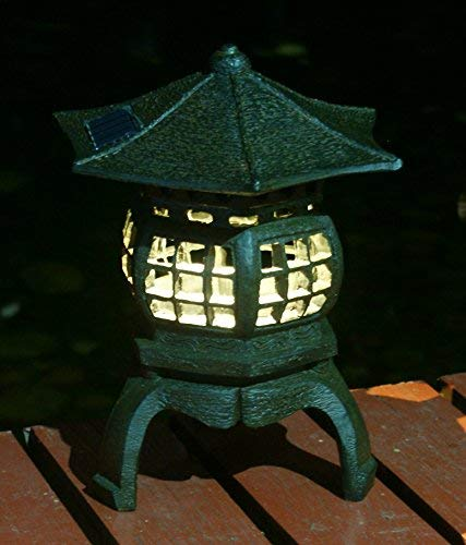 Japanese Lantern Garden Lights