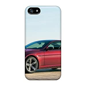 Cute High Case For Quality Case For HTC One M8 Cover Red Bmw M6 Side View Cases
