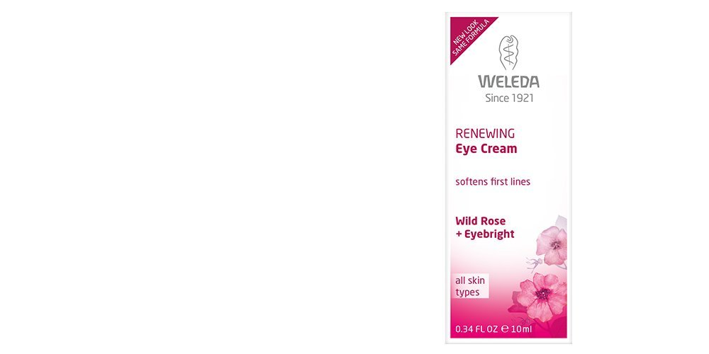 Weleda Wild Rose Smoothing Eye Cream, 0.34-Fluid Ounce 9720