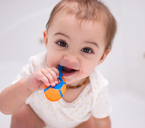 Teething Toothbrush Farber Baby BPA with Finger Handle 0-2 Years Pack