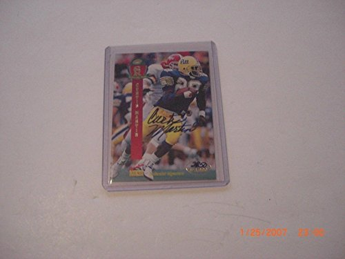 Curtis Martin Pitt Panthers 1995 Signature Rookies Auto 2850/3000 Signed Card - Autographed College Cards