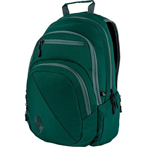Nitro Stash Rucksack, Schulrucksack, Schoolbag, Daypack, Blur-Blue Trims, 49 x 32 x 22 cm, 29 L Ponderosa