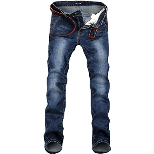 WEEN CHARM Mens Skinny Fit Jeans Stretch Slim Denim Jean