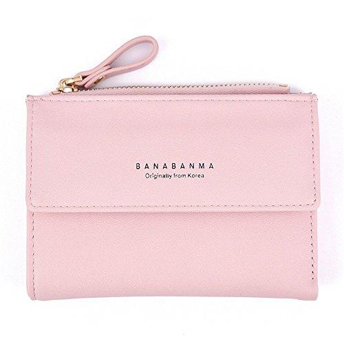glissière Gray Cuir Color à Les Fermeture en à Main Sac Pink à rabbit pour Lovely Occasionnelle Femmes BfZ4zz