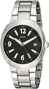 Rado D Star Ceramos Black dial Swiss Quartz Mens Watch