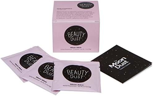 Moon Juice - Organic Beauty Dust Sachet Box (Edible Radiance, 10 Sachets)