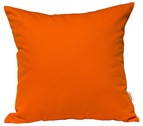 TangDepot Handmade Decorative Solid 100% Cotton Canvas Throw Pillow Covers/Pillow Shams, (26