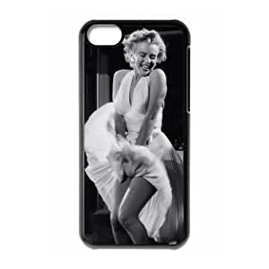 Famous Actress Marilyn Monroe Plastic Durable Slim Phone Case for Iphone 5C Case