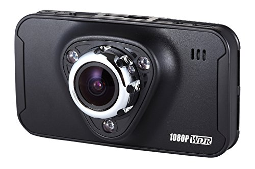 GolferCam GT1 Dash Cam Full HD 1080P Night Vision 170 Degree Wide Angle 2.7 Inch Car Recorder Dash Camera With WDR, SOS, Snap Shot, Cycle Recording, G-sensor, Motion Detection, Plate Stamp,Time Lapse