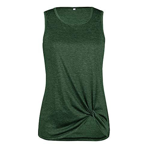 Sólido Manga Grandes Larga Mujeres Blusas Chaleco Otoño Verde Cuello Las Básica Militar Camiseta Casual Tops De Fiesta Color Euzeo Tallas Pullover Deporte Camisas Invierno Redondo PwWv0qz