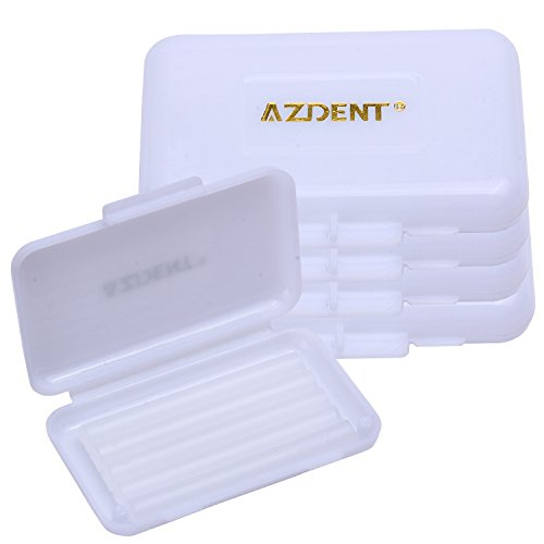 - AZDENT Unscented Dental Wax for Braces Teeth Orthodontic Waxes Pack of 5