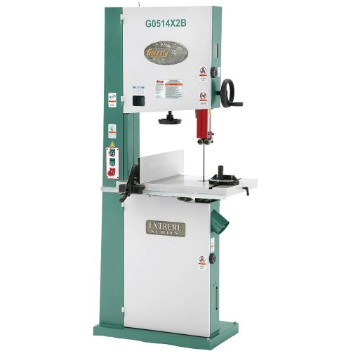 Grizzly G0514X2B 3 HP Extreme-Series Bandsaw with Motor Brake, 19-Inch by Grizzly