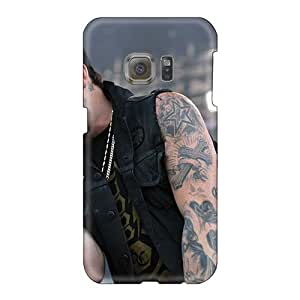 Scratch Resistant Hard Phone Covers For Samsung Galaxy S6 With Allow Personal Design Beautiful Good Charlotte Band Pictures AshleySimms