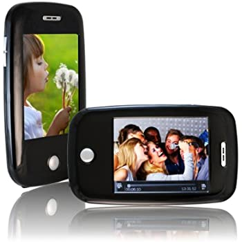 Sly Electronics 4 GB Video MP3 Player with  Video Recorder, 3-Inch Touchscreen, 5MP Digital Camera, FM Radio, and Speaker (Black)